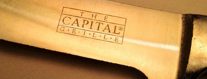 The Capital Grille is one of EUA - Leste.