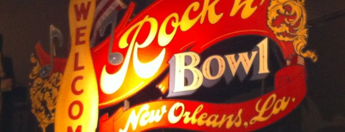 Rock 'n' Bowl is one of Good Spots NOLA.
