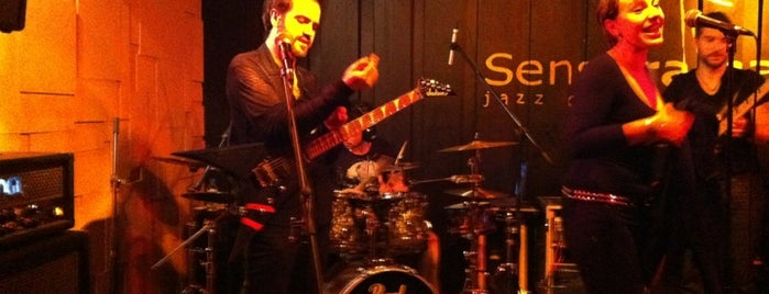 Sensorama Jazz Cafe is one of Madrid Live Music (1/2).