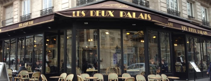 Brasserie Les Deux Palais is one of Posti che sono piaciuti a Filip.