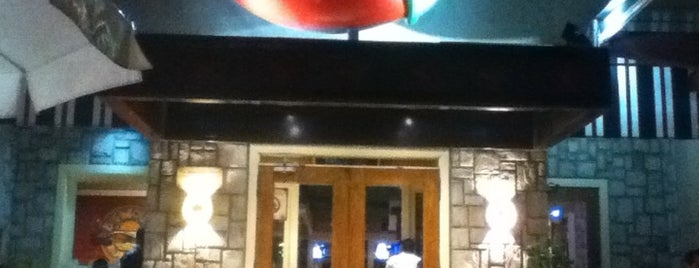 Chili's is one of Barriga llena, Corazon contento. Mexico City.