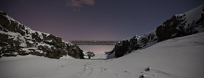 Brúin Milli Heimsálfa (Bridge Between Continents) is one of ICELAND / Reykjanes Peninsula.