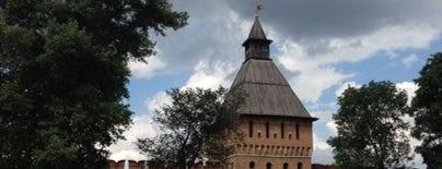 Городской кремлёвский сад is one of Orte, die Тимур gefallen.
