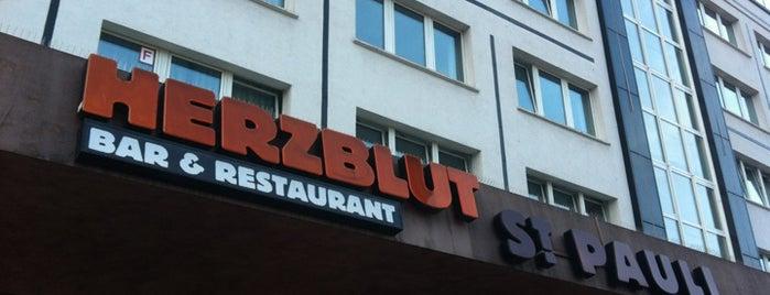 Herzblut St. Pauli is one of Ausgehen in Hamburg.