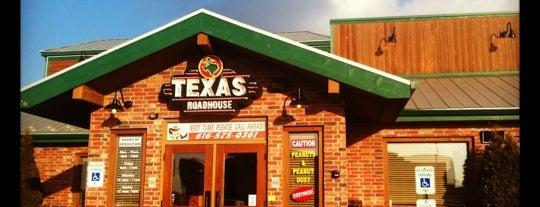 Texas Roadhouse is one of Orte, die Lee gefallen.