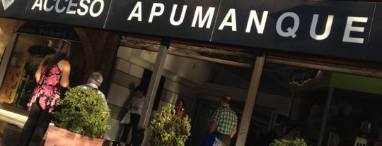 Apumanque is one of Locais curtidos por Tania.