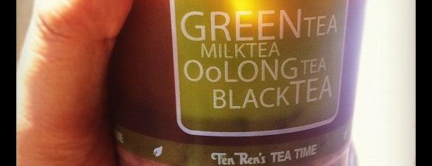 Ten Ren's Tea Time is one of Realz Coffee.