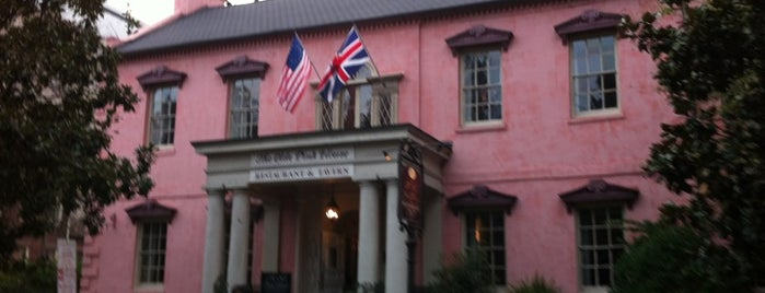 Olde Pink House Restaurant is one of Savannah Spots.