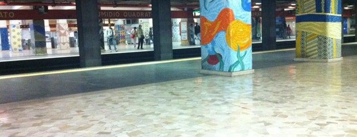 Metro Numidio Quadrato (MA) is one of Rome.