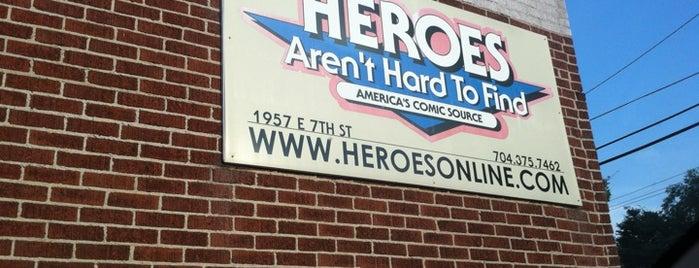 Heroes Aren't Hard To Find Comics is one of Lieux sauvegardés par Janessa.