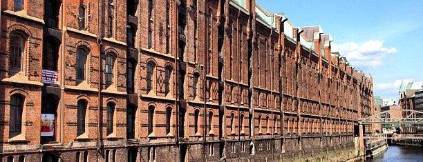 Speicherstadt is one of 100 обекта - Германия.