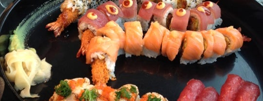 Sticks'n'Sushi is one of Ea&Justins recommendations for our guests<3.