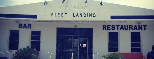 Fleet Landing is one of Charleston recommendations.