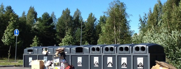 Recycling Facilities In Helsinki Area
