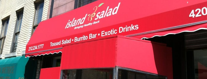 Island Salad is one of Food 2.