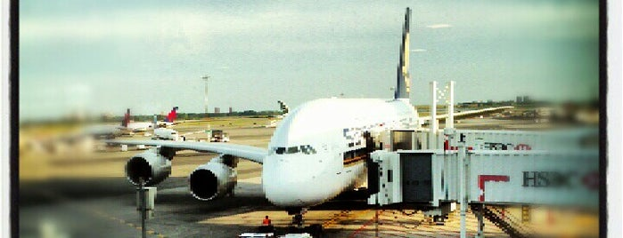 Singapore Airlines - Flight 25 is one of Places to Enjoy a Tiger Beer!.
