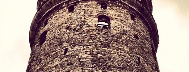 Galata Kulesi is one of Tarih/Kültür (Marmara).