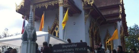 Buddhapadipa Thai Temple is one of Tired of London, Tired of Life (Jan-Jun).