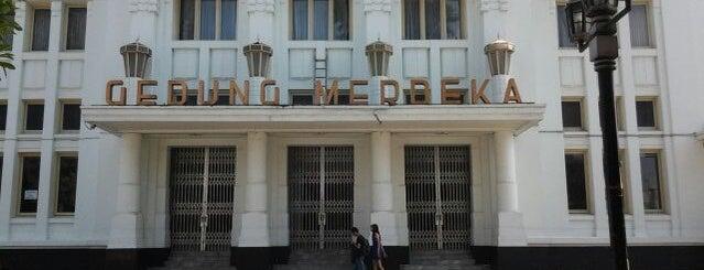Gedung Merdeka is one of My Hometown.