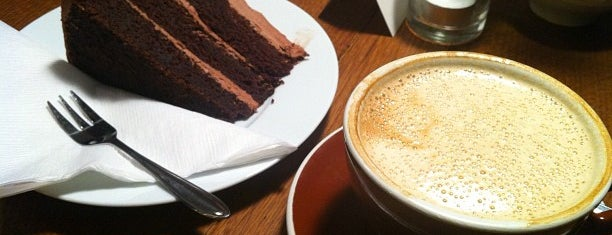 Katie's Blue Cat is one of Berlin's cake and coffee heaven....