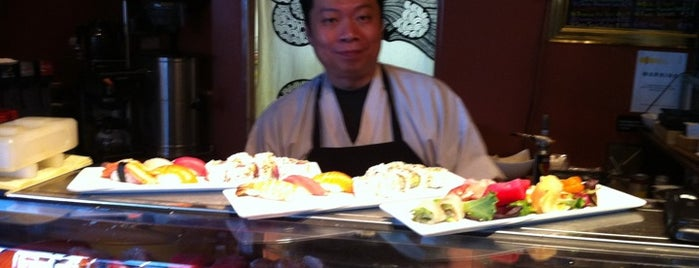 Purple International Bistro & Sushi is one of G. Village.