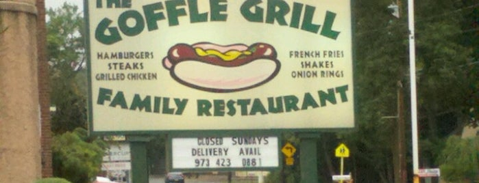 Goffle Grill is one of Locais curtidos por Jason.