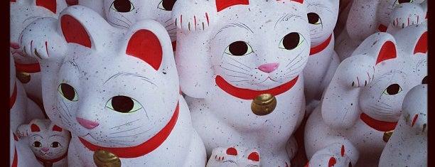 招福観音堂 is one of Favorite Cats.