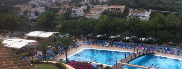 Insotel Club Cala Mandia Hotel Mallorca is one of Orte, die Valentin gefallen.