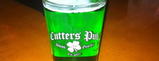 Cutter's Pub is one of Favorite Bars in Athens.