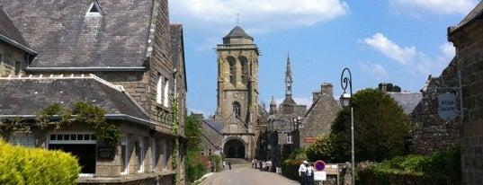 Locronan is one of Les plus beaux villages de France.