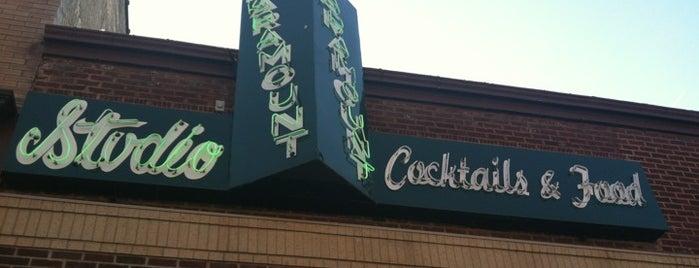 Paramount Studio Bar is one of 2012 DTSF Restaurant Week.