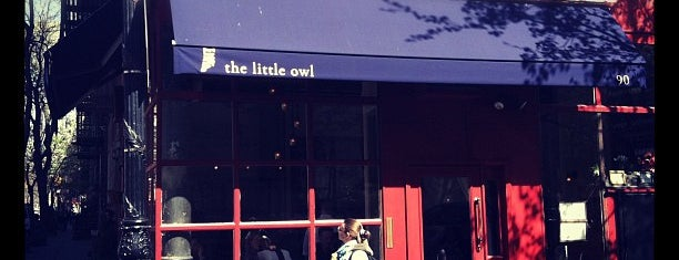 The Little Owl is one of Manhattan brunch.
