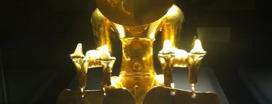 Museo del Oro del Banco de la República is one of selección Bogota.