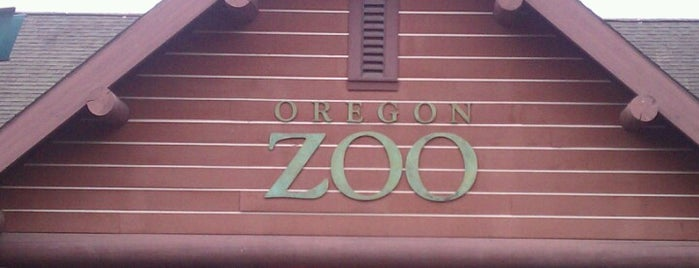 Oregon Zoo is one of Portland.