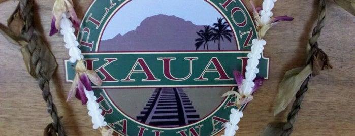 Kilohana Plantation is one of Kauai.