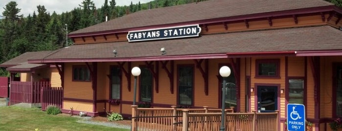 Fabyans Station Restaurant is one of New Hampshire.