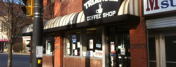 Triangle Coffee Shop is one of My Favorite Coffee Shops.