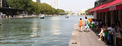 Bassin de la Villette is one of Paris da Clau.