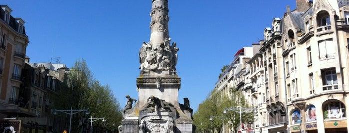 Place Drouet d'Erlon is one of Champagne Historique.