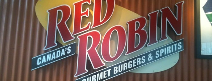 Red Robin Gourmet Burgers and Brews is one of Viagem Canadá.