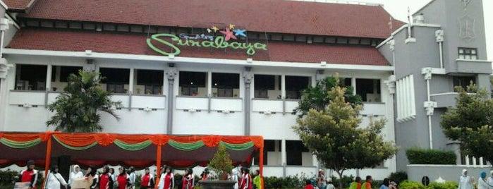 Taman Surya is one of Characteristic of Surabaya.