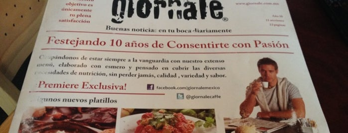 Giornale is one of Comida saludable CDMX.