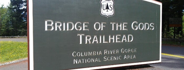 Bridge Of The Gods Trailhead is one of Amy & Craig Exploregon.