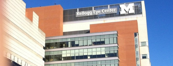 University of Michigan Kellogg Eye Center is one of Stores.