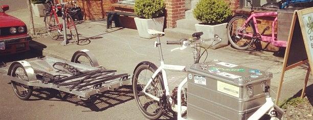 Splendid Cycles is one of Best of Portland by Bike.