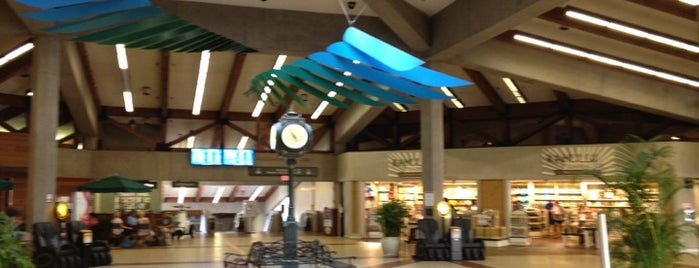 Kahului Airport (OGG) is one of Airports I've Traveled From.