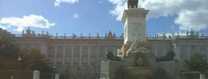Plaza de Oriente is one of The Best Of Madrid.