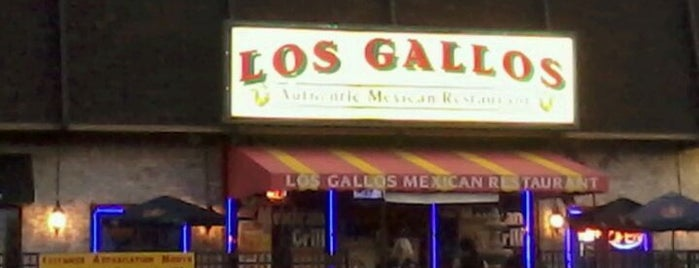 Los Gallos Mexican Restaurant is one of Lieux qui ont plu à Axel.