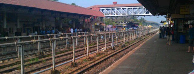 Margao Railway Station is one of Best of GOA, #4sqCities.