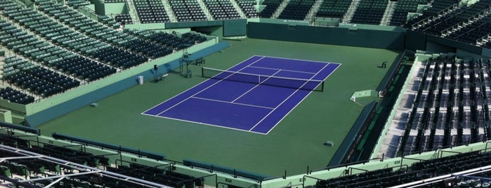 Crandon Park Tennis Center is one of Orte, die Beni gefallen.